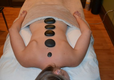Antigonish Massage - Hot Stones